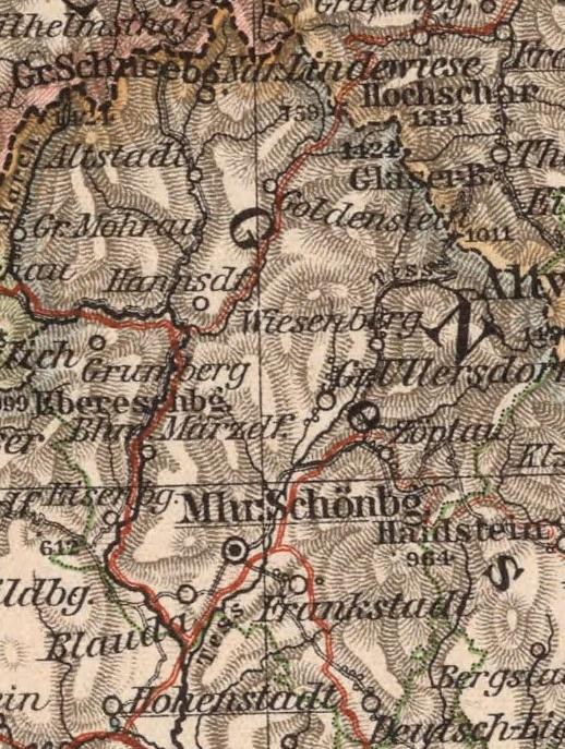Bildergebnis für mährisch weißkirchen karte